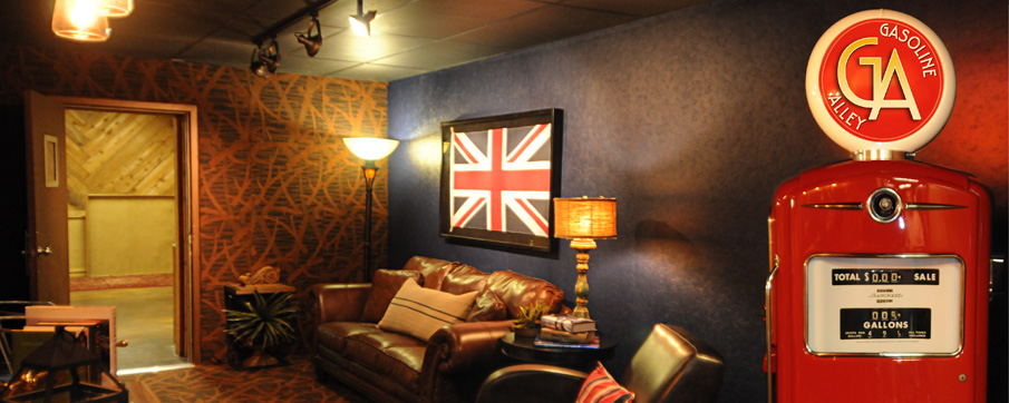 Comfortable Surroundings at Gasoline Alley Recording Studios